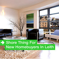 Shore Thing For New Homebuyers In Leith