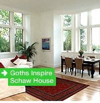 Goths Inspire Schaw House