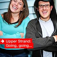 Upper Strand: Going, going...