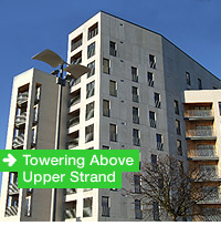 Towering Above Upper Strand